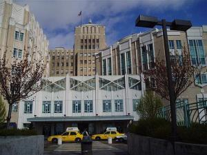 """March 202005 Harborview"" by Hospitalpic3454 at en.wikipedia - Own work. Transferred from en.wikipedia to Commons by User:Logan using CommonsHelper.. Licensed under Public Domain via Wikimedia Commons"