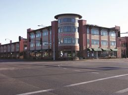 Tumwater Town Center, home of Washington State Department of Health in Olympia, WA